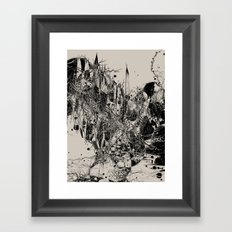 Coexistence Framed Art Print