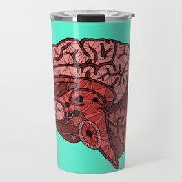 Brain Map Travel Mug