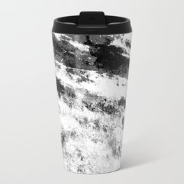 Perseverance Black & White Travel Mug