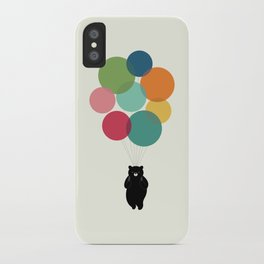 Happy Landing iPhone Case