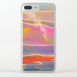 Adventure in the Volcanic Lands - Fumarole Clear iPhone Case