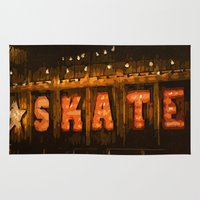 skate Area & Throw Rugs featuring Skate by Errne