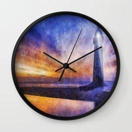 Talacre Lighthouse Wall Clock