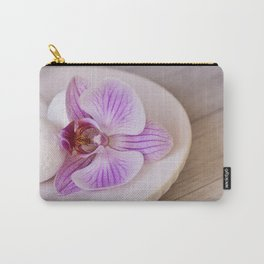Zen Style Pink Orchid Carry-All Pouch