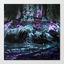 NOCTURNAL ROOTS Canvas Print