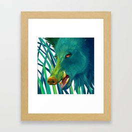Hog's Head Framed Art Print