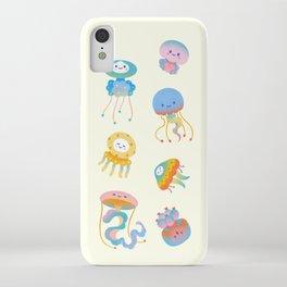 Pastel Jellyfish iPhone Case