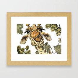 Sour Hops Framed Art Print