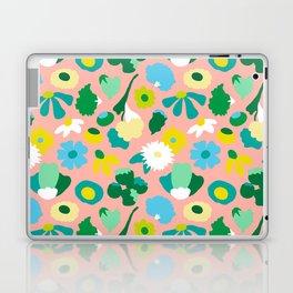 Mod Woodland Floral in Peach Laptop & iPad Skin