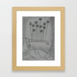 Eleven Butterflies Framed Art Print