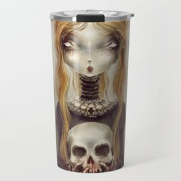 Black Widow by Élian Black'Mor Travel Mug