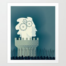Defending Intellectual Property Art Print