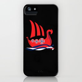 Viking Longship Norway Norse iPhone Case