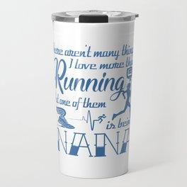 Running Nana Travel Mug