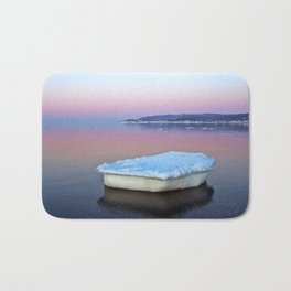 Ice Raft on the Sea Bath Mat