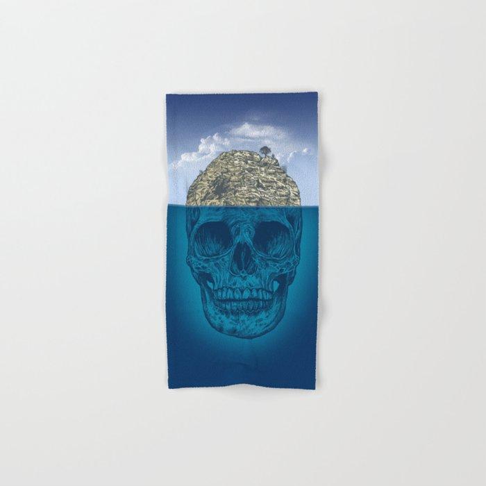 Skull Island Hand & Bath Towel