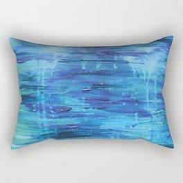 Cuadro azul Rectangular Pillow