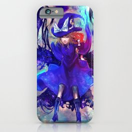 digital Touhou Kirisame Marisa iPhone Case