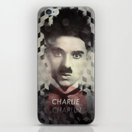 Charlie Chaplin iPhone Skin
