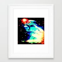storm trooper Framed Art Prints featuring STORM TROOPER by shannon's art space