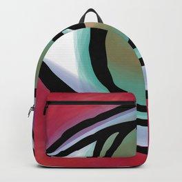 DOODLE HEART EYE 1 Backpack