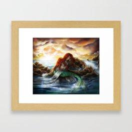 Sleeping Siren Framed Art Print