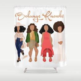 Solange Knowles Shower Curtain