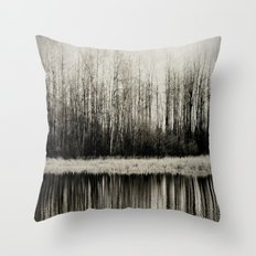 Solitude Revisited Throw Pillow