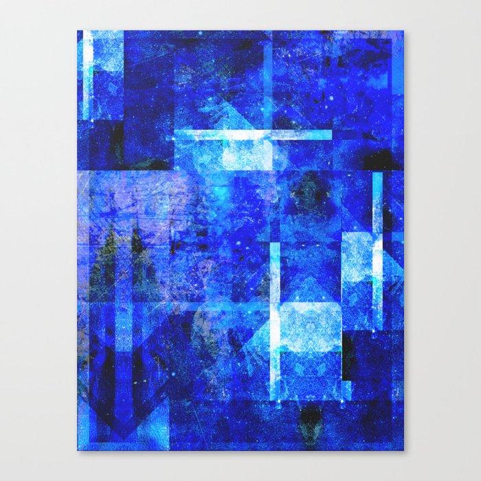 Sapphire Nebulæ Canvas Print