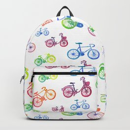 Rainbow bicycles Backpack