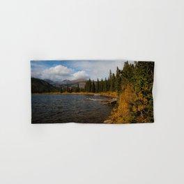 Mountain Lake in Autumn Hand & Bath Towel