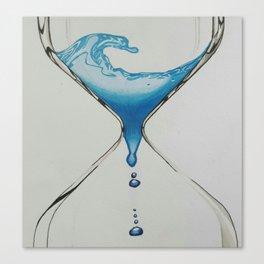 Liquid Timer Canvas Print