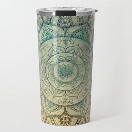 Faded Bohemian Mandala Travel Mug