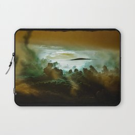 I Want To Believe - Gold Laptop Sleeve