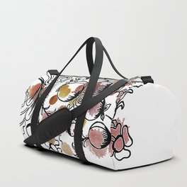flowers and fruits watercolor  ( https://society6.com/totalflora/collection Duffle Bag