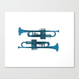 Trumpets Canvas Print