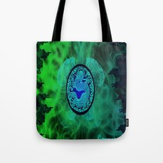 Dragons Might Tote Bag