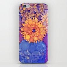 Vintage Flowers in the rain iPhone & iPod Skin