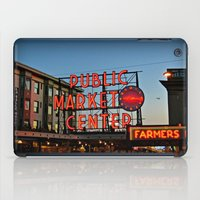 seattle iPad Cases featuring Seattle by FortuneArt&Photography