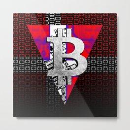 bitcoin denmark Metal Print