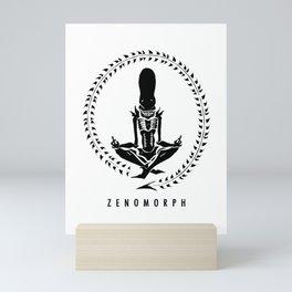 Zenomorph (dark) Mini Art Print
