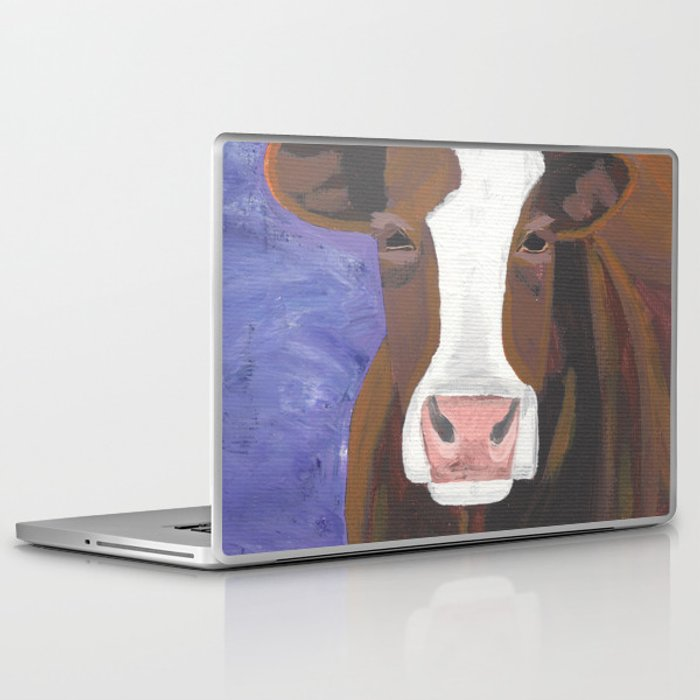 A Cow Named Beulah Laptop & iPad Skin