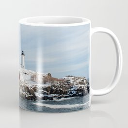 Nubble Lighthouse Maine Coffee Mug