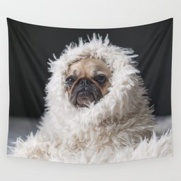 PUG VIBES Wall Tapestry