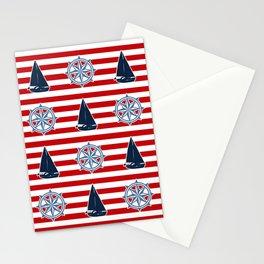 Nautical design Stationery Cards