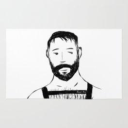 Beard Boy Harness 1 Rug