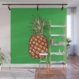 Pineapple, tropical, Hawaii Wall Mural