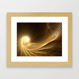 Golden Spiral Framed Art Print