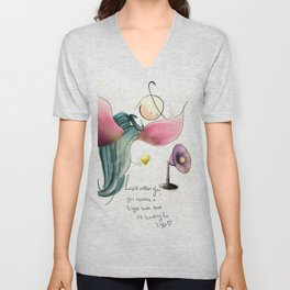 look within you  Unisex V-Neck