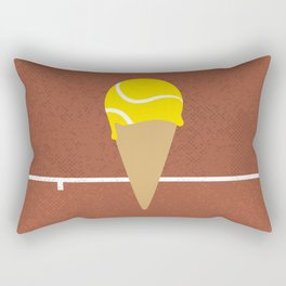 Tennis Ice Cream Rectangular Pillow